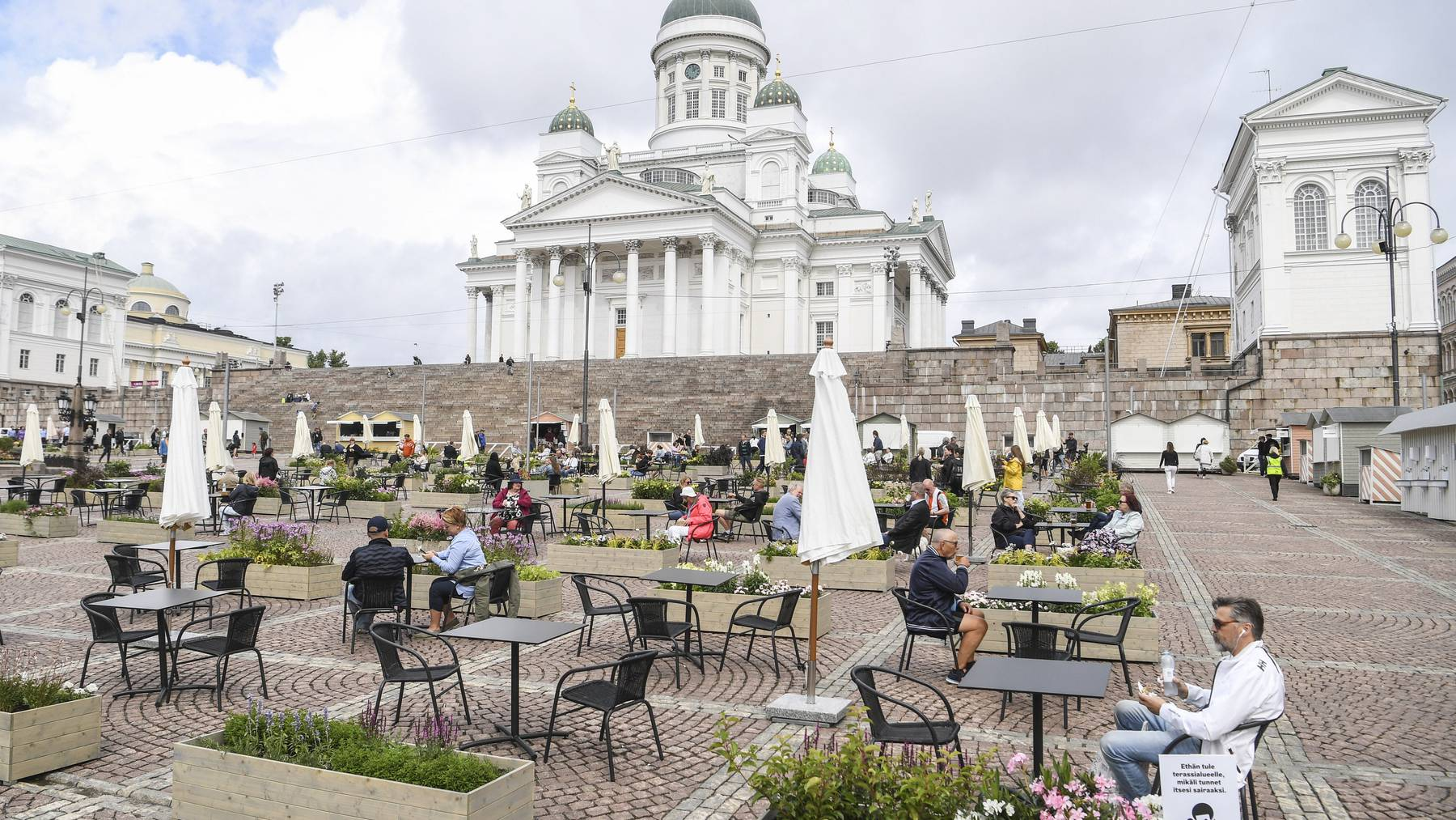 Die Finnische Regierung öffnet die Grenzen für mehrere Länder.