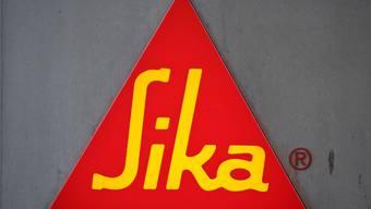 Logo am Sitz der Sika in Baar (Archiv)