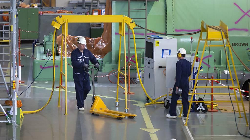 Erste Anlageteile des Atomkraftwerks Mühleberg sind abtransportiert