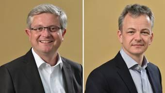 Andreas Glaser und Daniel Kübler (v.l.n.r.)