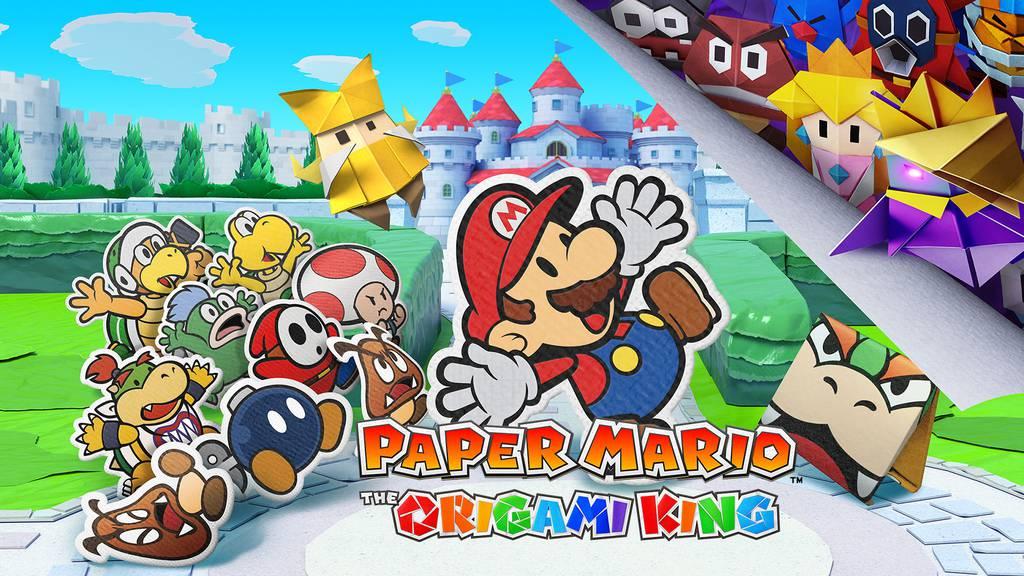 Paper Mario: The Origami King für die Nintendo Switch
