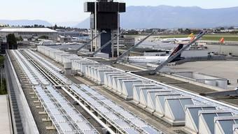 Der Flughafen Genf will die Produktion von Solarenergie massiv ausbauen.
