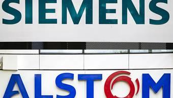EU-Wettbewerbshüter untersagen offiziell Siemens-Alstom-Fusion. (Archiv)
