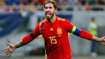 Will im Sommer mit Spanien bei der EM und bei den Olympischen Spielen antreten: Abwehrchef Sergio Ramos
