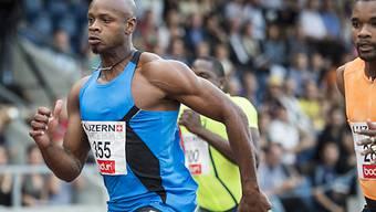 Asafa Powell enttäuschte beim Comeback