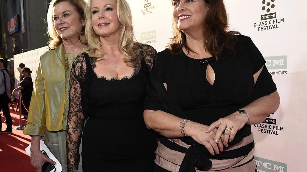 Die kanadische Schauspielerin Heather Menzies-Urich (links) erlag einem Hirntumor an Weihnachten. (Archivbild mit Kym Karath und Debbie Turner)