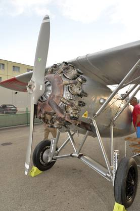 Ein Motor von Hispano Suiza