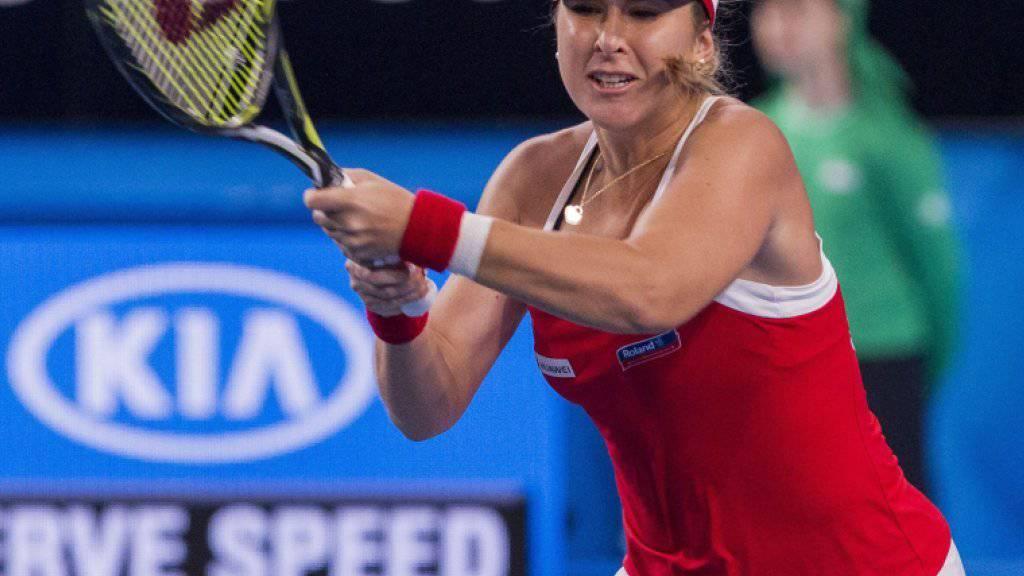 Belinda Bencic erlitt bereits früh in der Saison einen Dämpfer
