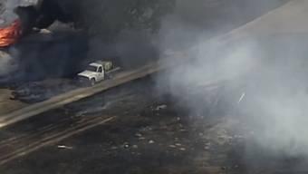 In Australien bedrohen immer mehr Buschbrände immer mehr Siedlungen.