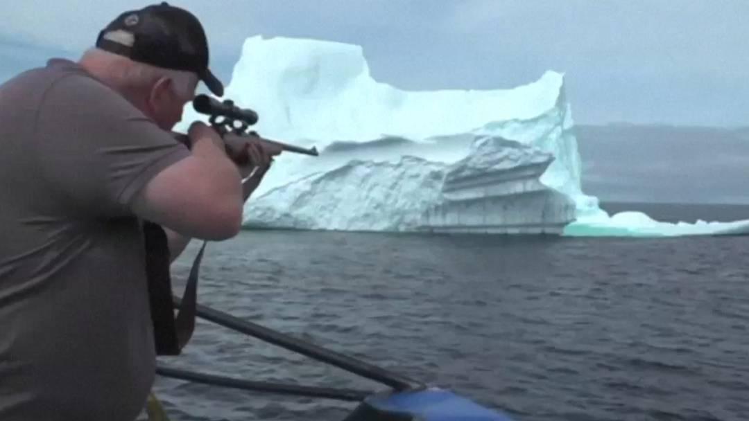 «Wir sind nicht hier, um die Umwelt zu verletzen»: Eisberg-Jäger auf der Pirsch