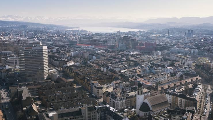 Zürich und Umgebung ist besonders bei Nordamerikanern beliebt.