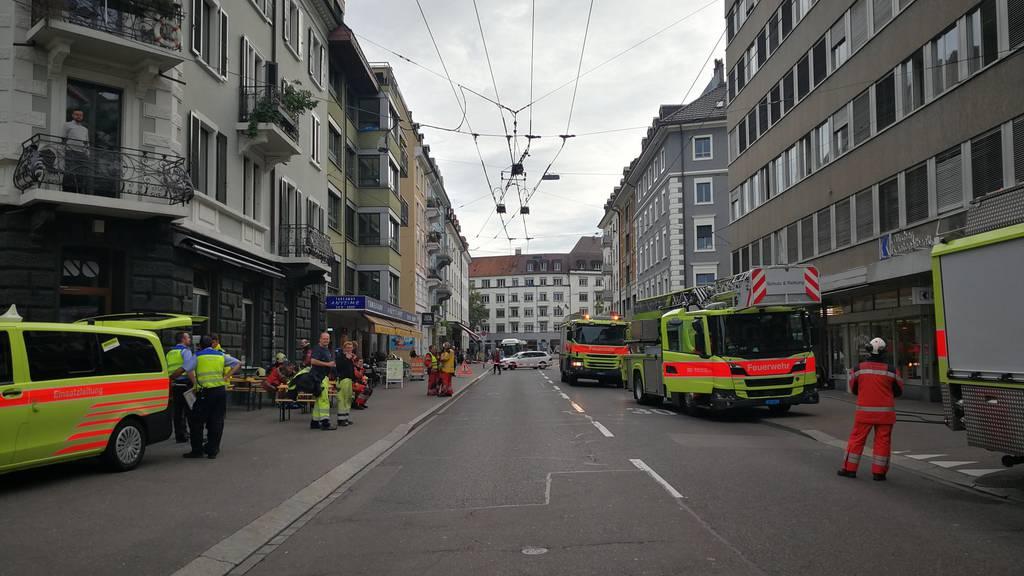 Brand in Bürogebäude in der Langstrasse – «giftiger Rauchentwicklung»