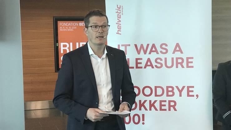 «Ohne die Fokker wäre Helvetic Airways heute nicht da, wo sie ist», sagt Helvetic-CEO Tobias Pogorevc.