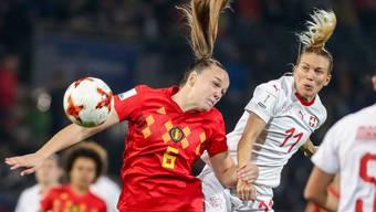 Frauen Nationalmannschaft Belgien - Schweiz (05.10.2018)