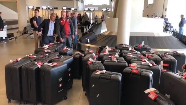 Fussball-WM: Ankunft in Russland