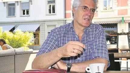 Werner van Gent: Frühstück im Casino ist für ihn einfach herrlich.