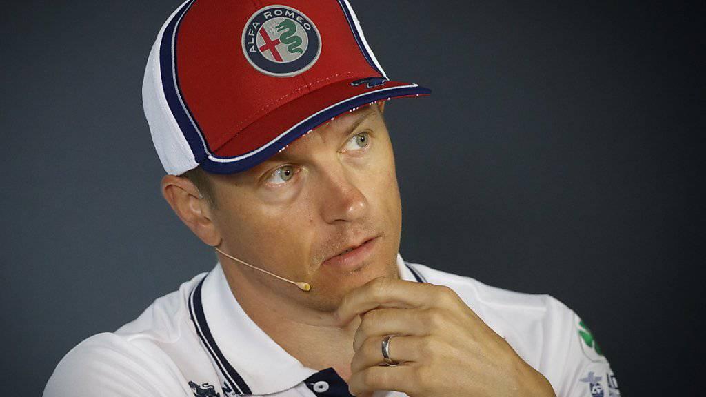 Kimi Raikkönen startet am Sonntag zu seinem 300. Grand Prix