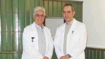 Lucio Stanca (rechts) folgt auf seinen Vater Leonardo als Leiter des Regionalen Altersheims Muhen-Hirschthal-Holziken.