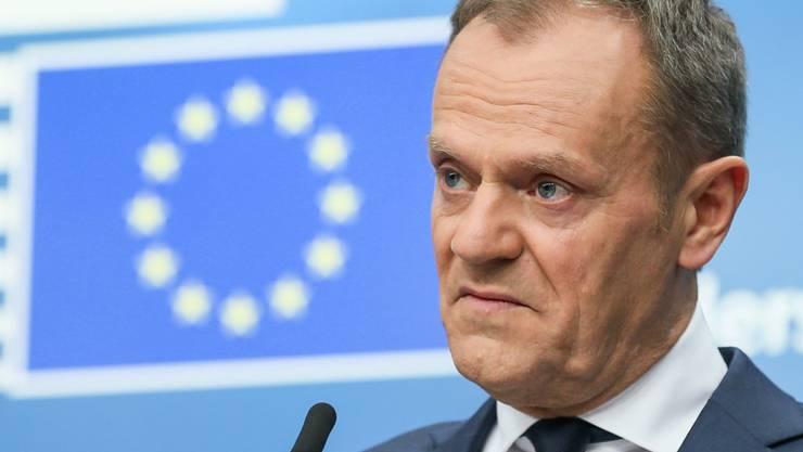 EU-Gipfelchef Donald Tusk hat nach dem Treffen der 27 EU-Staats- und Regierungschefs am Freitag in Brüssel den guten Willen aller Beteiligten gelobt. Die EU-Chefs hatten zum ersten Mal über den mehrjährigen EU-Finanzrahmen ab 2021 diskutiert.