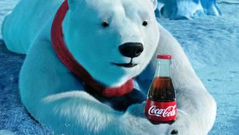 Nicht nur Eisbären mögen Coca Cola (Archiv)