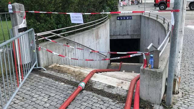 Überschwemmungen im Kanton Aargau (© Radio Argovia)