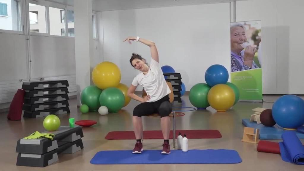 «Gymnastik im Wohnzimmer» vom 2. Mai 2021