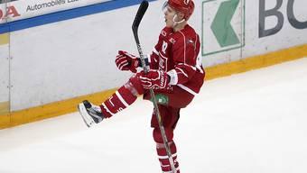 Harri Pesonen war beim 5:1-Sieg von Lausanne gegen Ambri-Piotta mit zwei Toren und einem Assist der herausragende Spieler