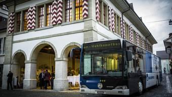 Wahlkampfbus Zofingen