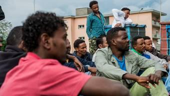 In der Schweiz leben viele eritreische Flüchtlinge. (Archiv)