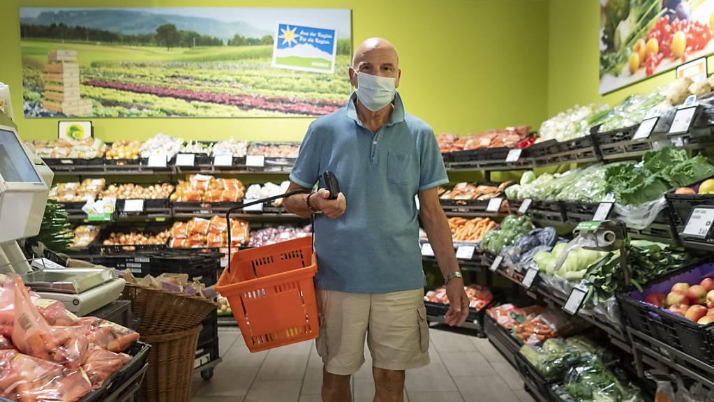 Die Lebensmittelgeschäfte konnten von der Erholung im Detailhandel deutlich profitieren. (Archivbild)