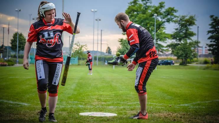 Finnisches Baseball: Pesäpallo ist Finnlands Breitensport Nummer 1 und findet auch im Kanton Solothurn grossen Anklang.