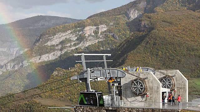 Attraktion in Armenien: längste Seilbahn der Welt