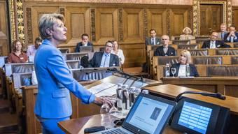 Bundesrätin Karin Keller-Sutter: «Basel hat ein Interesse an geregelten Verhältnissen.»