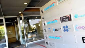 Die Firma Covance im Geschäftsgebäude am Lettenweg In Allschwil wird alle Mitarbeiter entlassen.