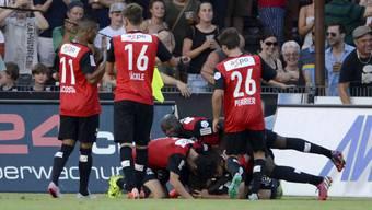 Challenge League: FC Aarau - FC Wohlen, die Bilder zum Derby