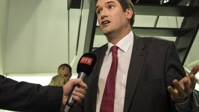 SP-Parteipräsident Christian Levrat gibt ein Interview (Archiv)
