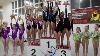 Gym-Star-Mannschaftswettkampf in Niederlenz, Kutu Weiningen und Kutu Urdorf
