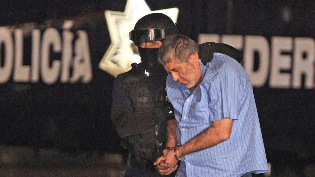 Der ehemalige Drogenbaron Vicente Carrillo Fuentes ist von einem Gericht zu einer Strafe von 28 Jahren Gefängnis verurteilt worden. Fuentes war 2014 verhaftet worden. (Archivbild)