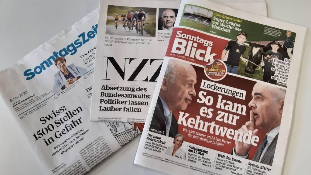 Die Swiss, Bundesanwalt Lauber und die Kehrtwende des Bundesrats