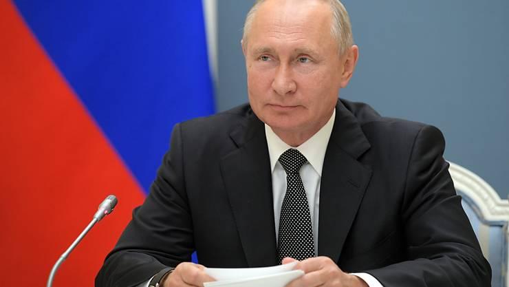 Russlands Präsident Wladimir Putin. Die neue Verfassung erweitert Putins Machtbefugnisse und ermöglicht ihm das Regieren bis 2036, wenn er wiedergewählt wird. Foto: Alexei Druzhinin/Pool Sputnik Kremlin/AP/dpa