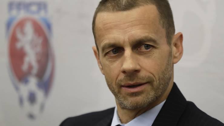 Konkurrenzlos bei der nächsten Wahl: Aleksander Ceferin blickt einer zweiten Amtsperiode als UEFA-Präsident entgegen