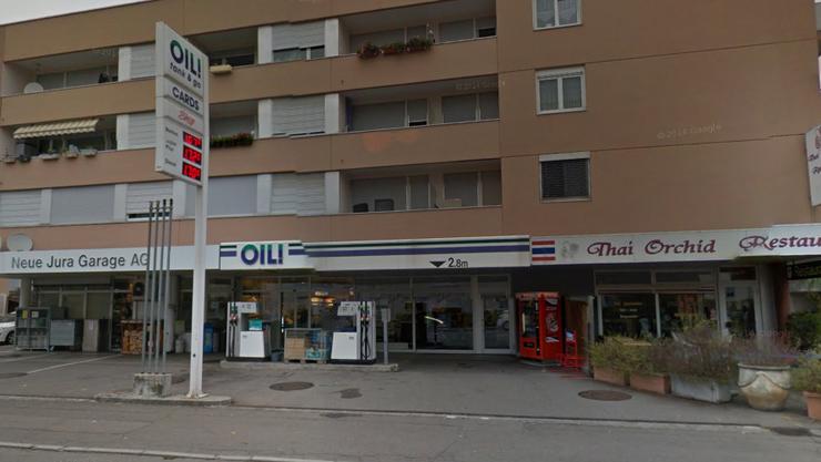 Diese Tankstelle in Wettingen wurde überfallen. (Archiv)