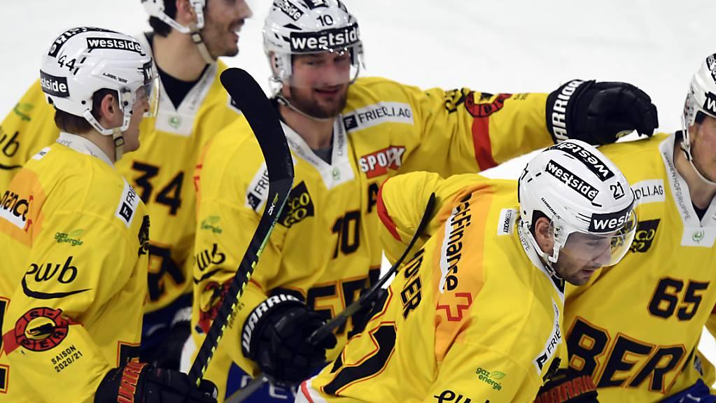 Bern jubelt wie im Cupfinal erneut im Hallenstadion.