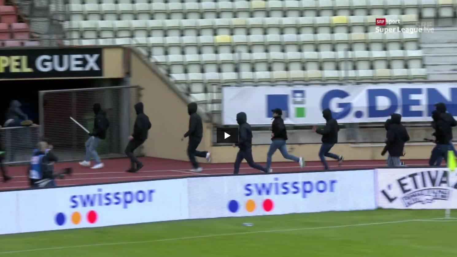 Forfait-Niederlage gegen Lausanne