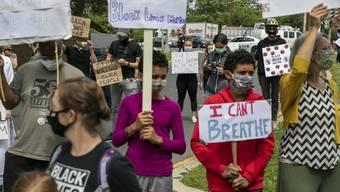 Die Proteste in den USA halten an und das trotz Corona.