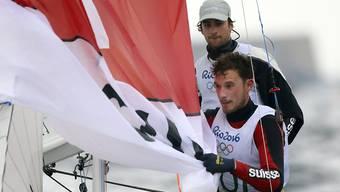 Yannick Brauchli und Romuald Hausser segelten unter ihren Möglichkeiten