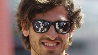 Ferrari-Testfahrer Antonio Giovinazzi fuhr bei den Reifen-Tests Bestzeit