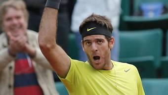 Del Potro muss im Davis Cup verletzt passen