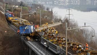 Immensee: Zug-Crash bei Unterhaltsarbeiten auf Gotthardlinie