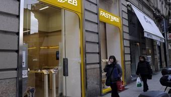 Eine Fastweb-Filiale in Mailand (Symbolbild)